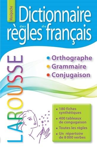 Dictionnaire des règles du français - Grand Format