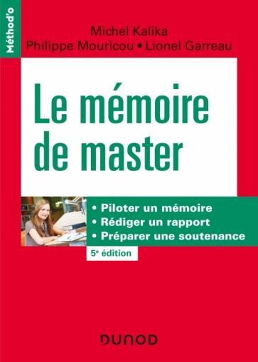 Le mémoire de master - 5e édition