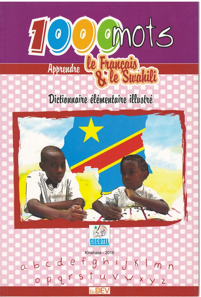 Dictionnaire élémentaire illustré Français/Kiswahili