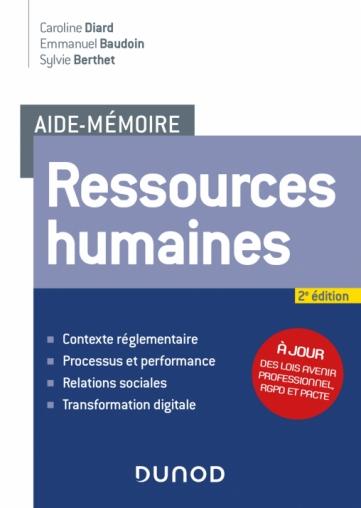 Aide-mémoire - Ressources humaines - 2e édition